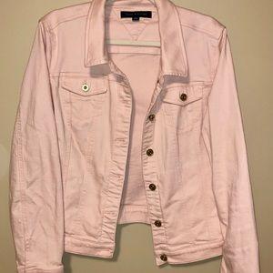 Blush Pink Tommy Hilfiger Jean Jacket